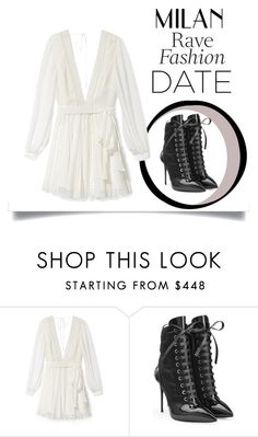 """""""Rave"""" by cartersplace ❤ liked on Polyvore featuring Rebecca Minkoff and Giuseppe Zanotti"""