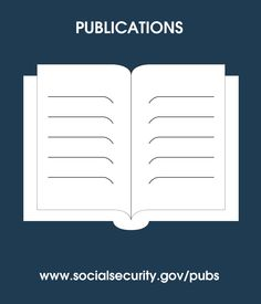 #SocialSecurity publications are downloadable, printable & available via streaming audio www.socialsecurity.gov/pubs