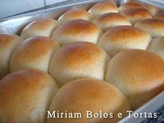 Pãozinho Simples - Culinária-Receitas - Mauro Rebelo