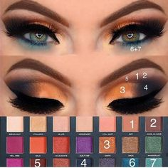 new look what do you think YAY OR NAY? BORN TO RUN Palette Thank you for this amazing Palette super buttery and… Makeup Inspo, Makeup Art, Makeup Tips, Beauty Makeup, Skin Makeup, Eyeshadow Makeup, Makeup You Need, Creative Eye Makeup, Eye Makeup Steps