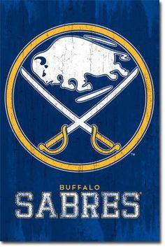 Trends International NHL Buffalo Sabres - Logo Wall Poster, x Premium Unframed Nhl Logos, Hockey Logos, Sports Team Logos, Hockey Teams, Sports Teams, Buffalo Sabres, Montreal Canadiens, Jojo Siwa, Logan