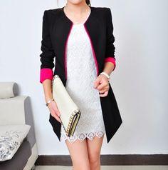 Luego de ver los últimos modelos de vestidos para chicas , es el turno de mostrar los blazers que están de moda en Corea del Sur .