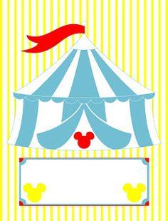 Lollita Cereja: Festa personalizada Circo