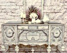 MagiDeal Vintage Wall Clock Rustic Shabby Chic Home Kitchen Wooden Decor - Home Style Corner White Furniture, Paint Furniture, Cool Furniture, Modern Furniture, Furniture Design, Furniture Ideas, Bedroom Furniture, Furniture Stores, Gothic Furniture