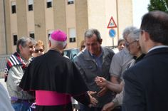 Offida, l'incontro con il nuovo Vescovo Giovanni D'Ercole - reportage