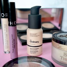 2017 Beauty Favourites - The Ordinary Serum foundation