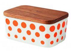 Decorate Shop - Helbak Revy Smørbox Med Låg, vælg farve