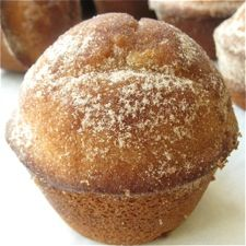 These doughnut muffins are delicious!  They are best the day that they are made.