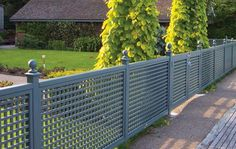 Contemporary Trellis Panels - Wooden Fence Trellis Panels - Essex UK, The Garden Trellis Company Con