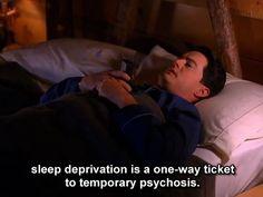 Twin Peaks. Agent Cooper. Insomnia. Sleepless.