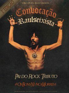 """O encontro também marcará a pré-estreia do """"Projeto Pai do Rock"""" e acontece dia 28 de Junho de 2014, às 16h, na Praça Pôr do Sol, Alto de Pinheiros, na Zona Oeste de São Paulo. A entrada é Catraca Livre."""
