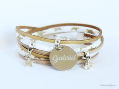 85af5e9e091 Bracelet liberty motif étoile - doré