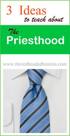 lesson tips: priesthood