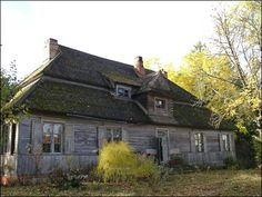 A Wrinkle In Time, Cottages, Polish, Cabin, Bright, Spaces, Architecture, House Styles, Home Decor