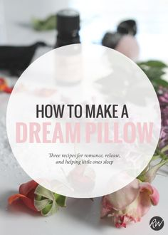 Dream pillows are therapeutic tools that help us with fitful sleeps, anxiety, and more. Working with these items in yoru spiritual practice can help your body download amazing healing while you're in REM sleep cycles | Rogue Wood Supply