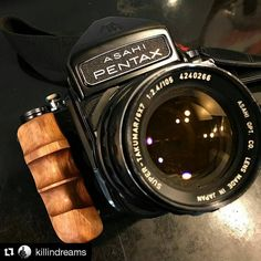 Thanks @killindreams for sharing nice photo of my work. @repostapp __________________________ Custom Wooden Grip for PENTAX6x7/PENTAX67 Contact to craftsman : myoatmail@gmail.com #フィルム #フィルムカメラ #Pentax #Pentaxcamera #Pentax67 #Pentax6x7 #kameracraft...