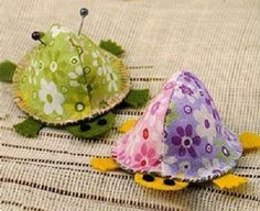 Pin cushion for thrusting pins - CraftStylish