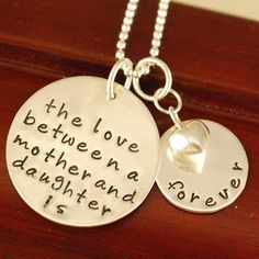 Special Gift From Mother To Daughter For Wedding : ... Mother Daughter Necklace, Mother Daughter Jewelry and Mother Daughter
