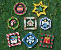 for all my perler beads!! Christmas Ornaments