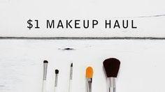 $1 Makeup Haul / Miss A