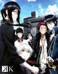 K Project! LOVE THEM ALL O(≧▽≦)O