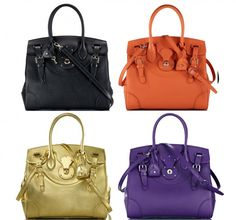 7b166218ef9b Our Soft Ricky Bag is featured today on Purse Blog Ralph Lauren Bags