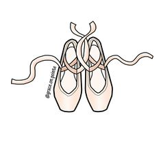 Maria Taglioni is the first known ballerina to dance a full length ballet en pointe. Her shoes were - grace. Ballet Images, Ballet Pictures, Ballerina Doll, Ballerina Shoes, Pointe Shoes Drawing, Toe Shoes Ballet, Ballet Drawings, Dance Logo, Dance Camp
