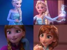 """They look very much like the """"original"""" Anna and Elsa"""