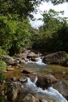 Rivière rouge à matouba, st-claude. Guadeloupe
