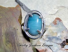 Handmade Sterling Silver Ring Shirley Jackson Design by AJewelryC