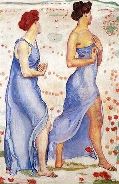fleurdulys:  Sensation - Ferdinand Hodler 1907