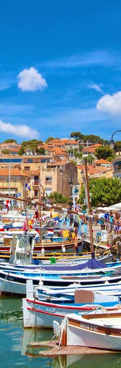 Cassis Port, Côte d'Azur, France