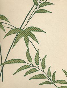 Trellis Bamboo wallpaper from Little Greene Paint Co.