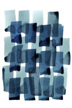 Cass Deller - Denim Watercolour 2