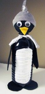 Penguin- gonna try a version of this for Sara's school animal project.