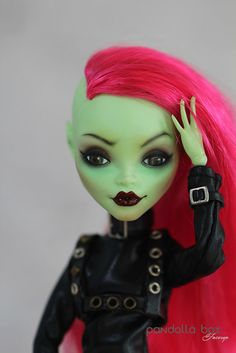Monsterhigh Venus repaint