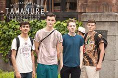 #fashionsnap #fashionblogger #streetsnap 戯 -TAWAMURe- #21 4guys