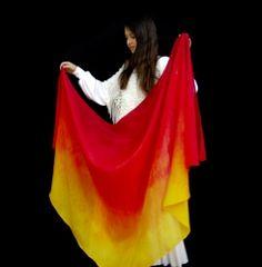 Consuming Fire Veil Flag Store, Veil, Worship, Faith, Dance, Dancing, Veils, Peplum, Loyalty
