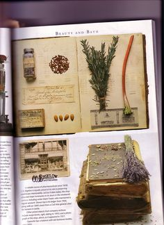 This came out of Victoria Magazine ~ very Practical Magic