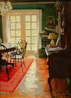 Larry Bracegirdle - French Doors in the Lights Painting Inspiration, Art Inspo, Art Boards, Design Boards, Paintings I Love, Pretty Art, Room Paint, Interior Paint, Architecture