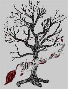 Tree Tattoo - love the wind effect