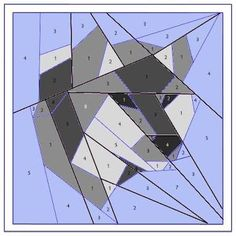 Image result for wolf quilt block pattern