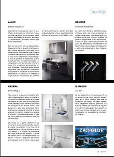 Publicación en revista Sala Baño