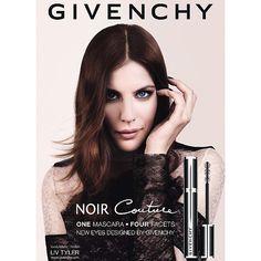 Liv Tyler // Givenchy Noir Couture Mascara