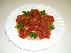 Pečené papriky s cesnakom - delikatesa