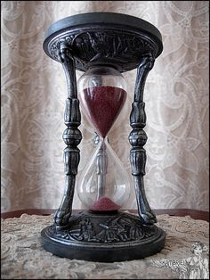 The Alchemist  Vintage Wizard Hourglass by kambriel on Etsy