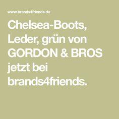 Brands4friends gordon bros conte leather trainer brown gordon bros