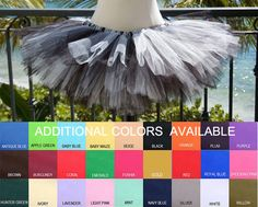 Adult Tutu Multi Custom Colors by tutuabell on Etsy