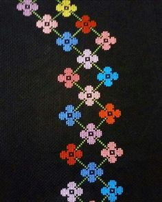 Discover thousands of images about Yogurtcu Cross Stitch Numbers, Cross Stitch Borders, Cross Stitch Flowers, Cross Stitch Designs, Cross Stitching, Cross Stitch Embroidery, Hand Embroidery, Cross Stitch Patterns, Loom Beading