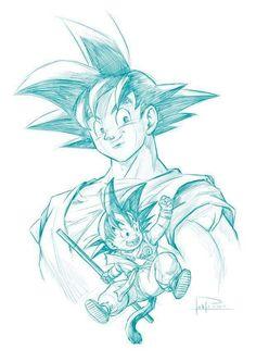 Manga Dragon, Dragon Art, Dragon Ball Z, Anime Girl Neko, Dragon Pictures, Anime Tattoos, Z Arts, Fan Art, Comic Art